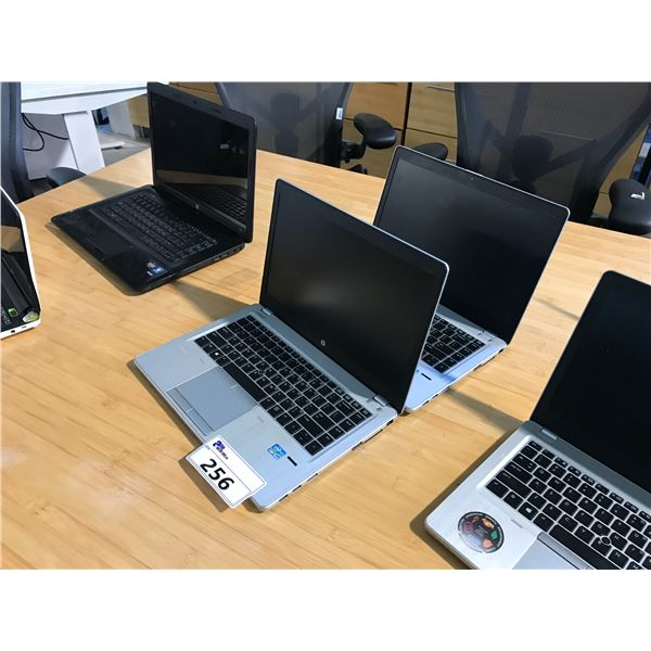 2 HP ELITEBOOK LAPTOPS (NO HARD DRIVES, CONDITION UNKNOWN) NO POWER CORDS
