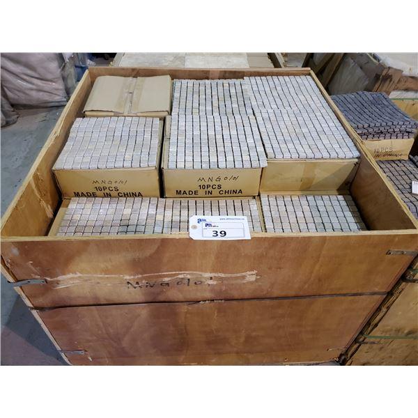"PALLET OF 430 PCS OF 12X12"" SHEETS MOSAIC TILE"