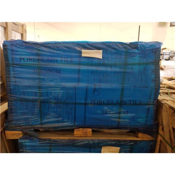 "PALLET OF 450 PCS OF 24X12"" PORCELAIN TILE"