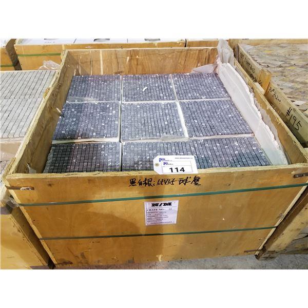 "PALLET OF 395 PCS OF 5/8"" - 12X12"" NEYO ANTICO TILE SHEETS"