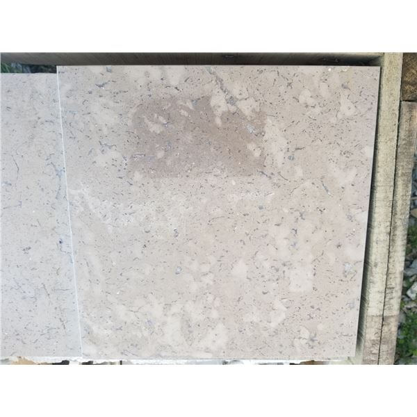 """PALLET OF 334 PCS OF 12X12"""" CAPPUCCINO COLOURED TILE"""