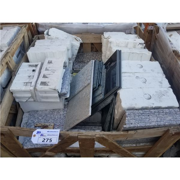 """PALLET OF MIXED 12X12"""" TILE"""
