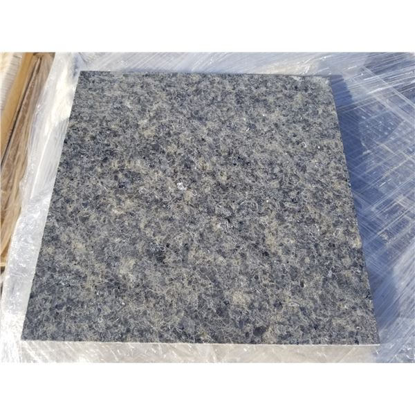 """PALLET OF APPROX 400 PCS OF 12X12"""" GREY MARBLE TILE"""