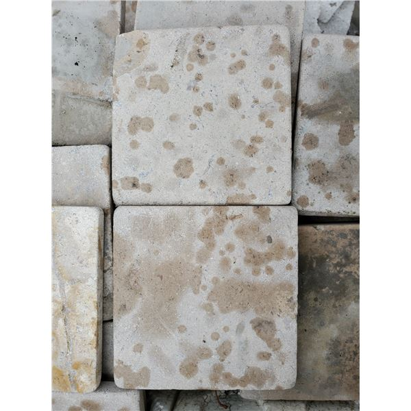 """PALLET OF APPROX 400 PCS OF 4X4"""" CAPPUCCINO COLOUR TILE"""
