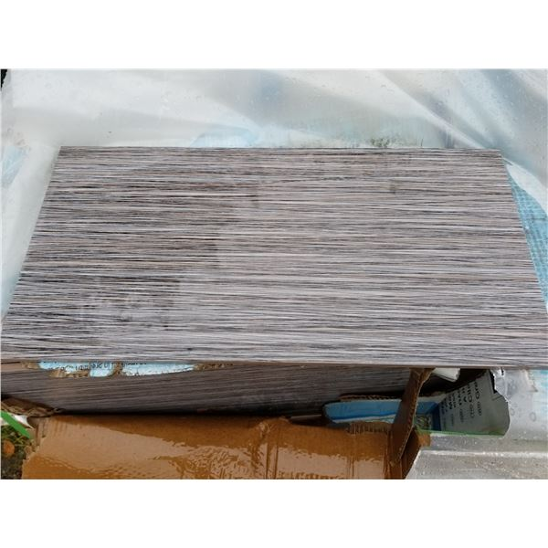 """PALLET OF APPROX 300 PCS OF 12X16"""" TILE"""