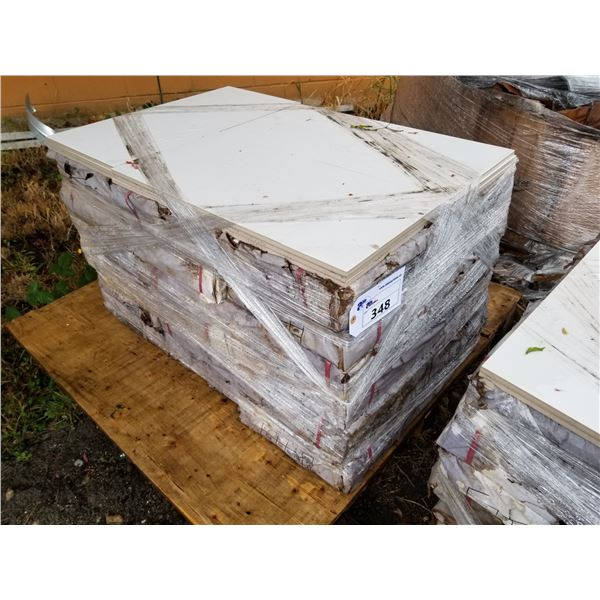 """PALLET OF APPROX 70 PCS OF 12X24"""" WHITE TILE"""