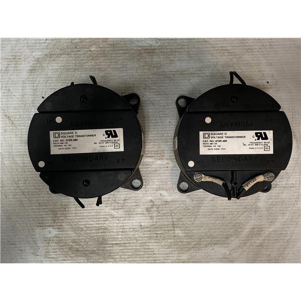 (2) Square D # 470R-480 Voltage Transformers