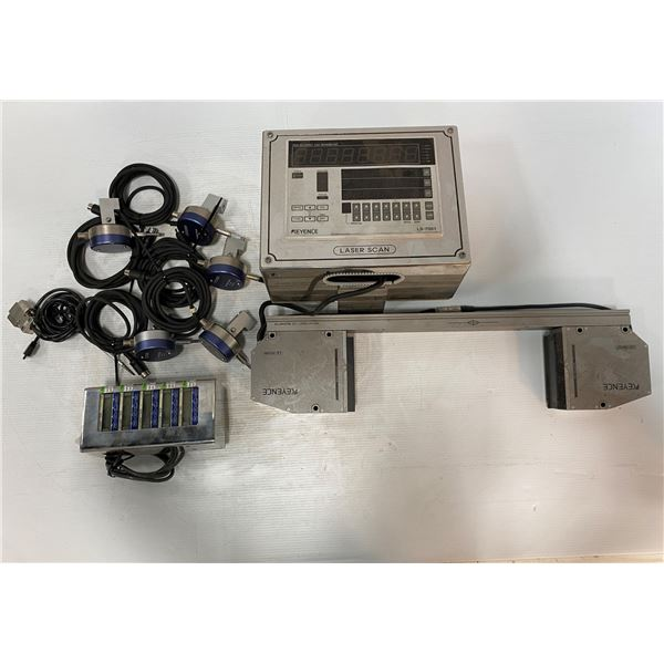 Lot of Laser Scan Items