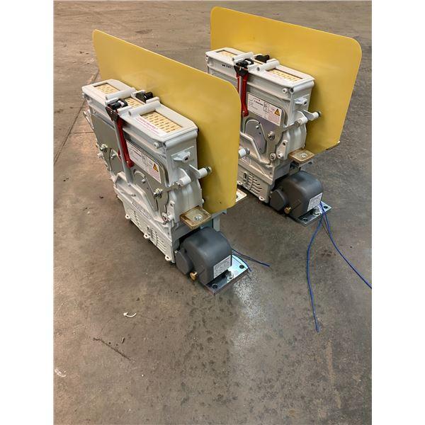 (2) Schaltbau CT1215/08V24ECM-00 High Voltage Contactors