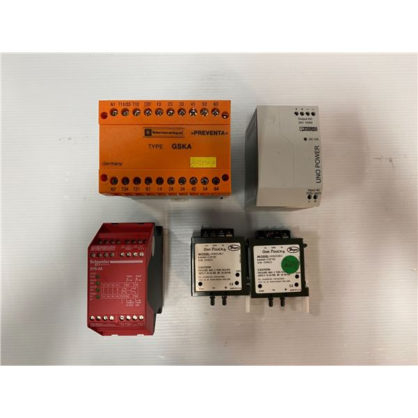 LOT OF MISC MRO ELECTRICAL COMPONENTS