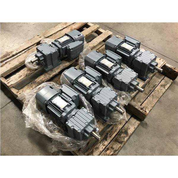 (5) Sew-Eurodrive R27 DRS71M4BE05 Motor