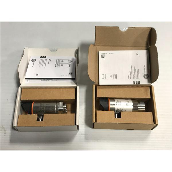 Lot of (2) IFM #PN2026 / #PN2096 Pressure Sensor