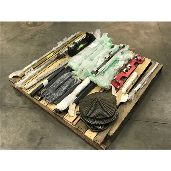 Lot of Misc. Guide , Clamp and Chain