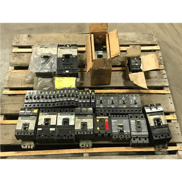 Lot of Square D Circuit Breaker