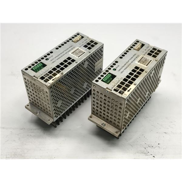 Lot of (2) ABB #3HAC 12934-1 Power Supply
