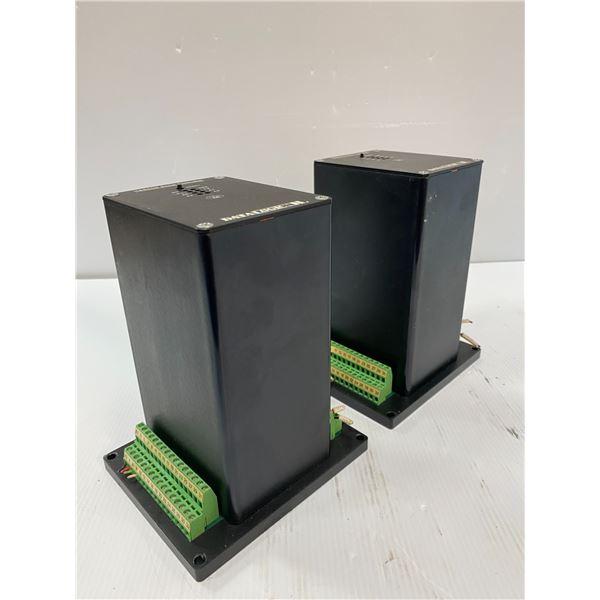 (2) Datalogic # HS850B Serial Controllers