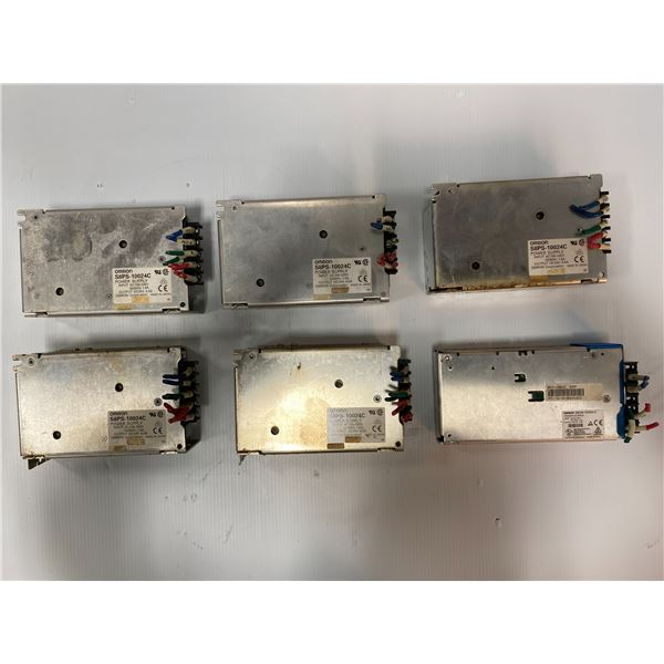 Lot Of Omron Power Supplies