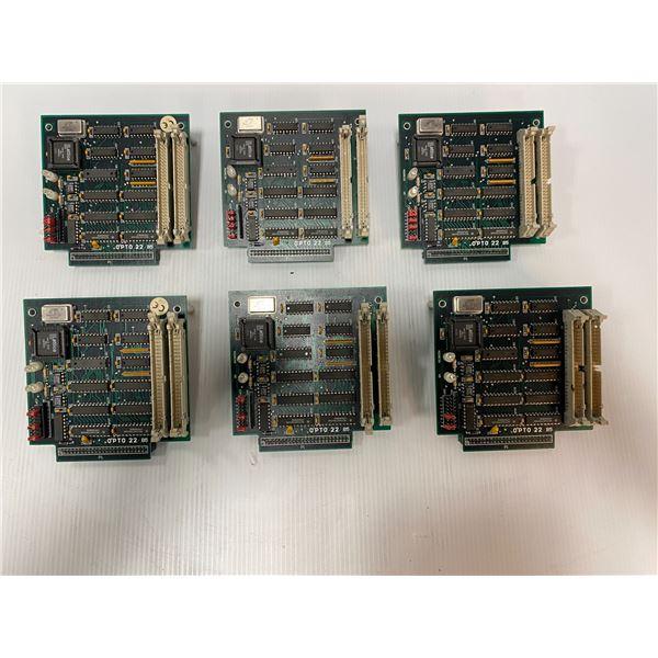 (6) OPTO 22 B5 Circuit Boards