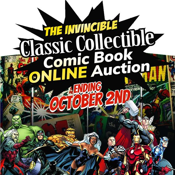 WELCOME TO THE KASTNER AUCTIONS COLLECTIBLE COMIC
