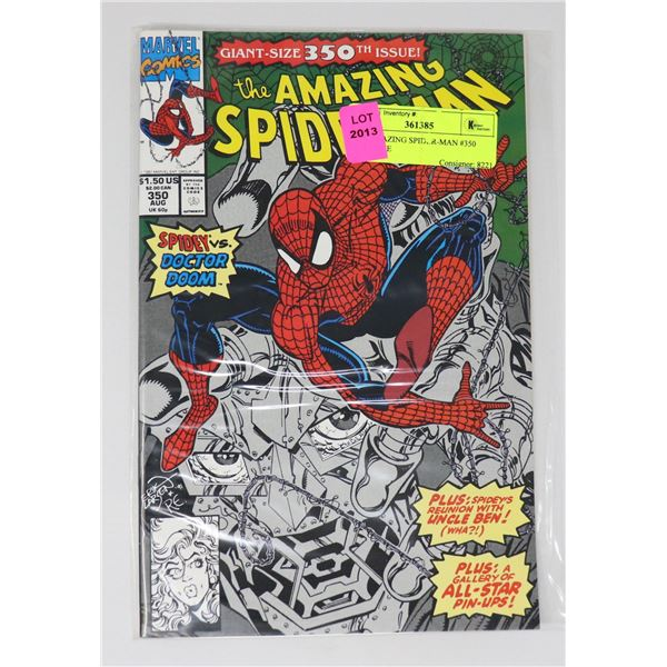 THE AMAZING SPIDER-MAN #350 KEY ISSUE