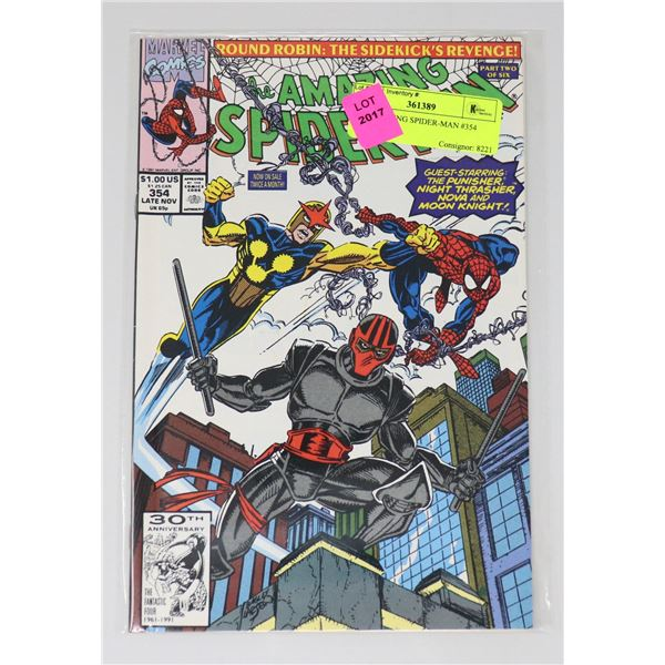 THE AMAZING SPIDER-MAN #354
