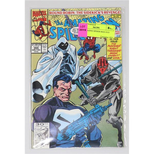 THE AMAZING SPIDER-MAN #355