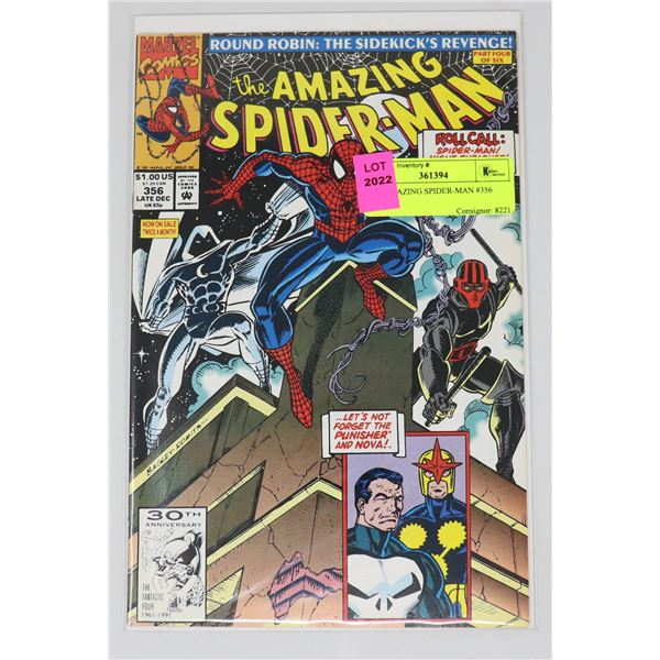 THE AMAZING SPIDER-MAN #356