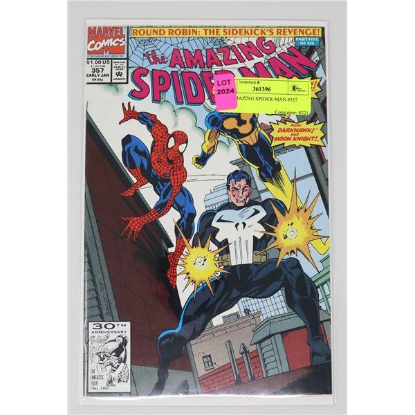 THE AMAZING SPIDER-MAN #357