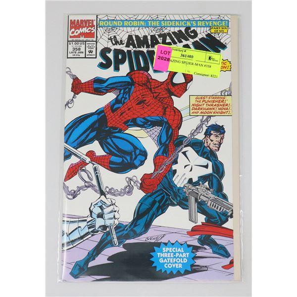 THE AMAZING SPIDER-MAN #358