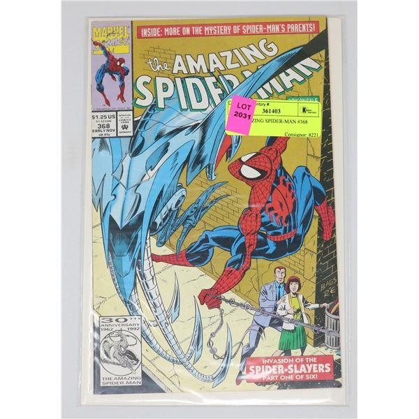 THE AMAZING SPIDER-MAN #368