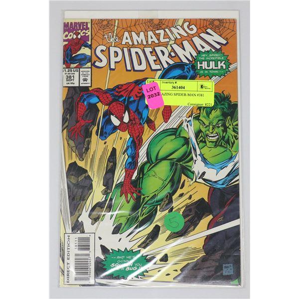 THE AMAZING SPIDER-MAN #381