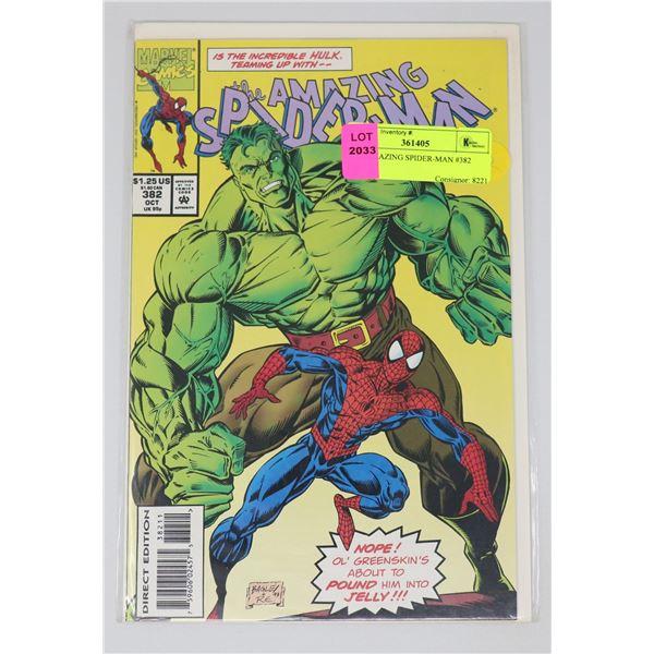 THE AMAZING SPIDER-MAN #382