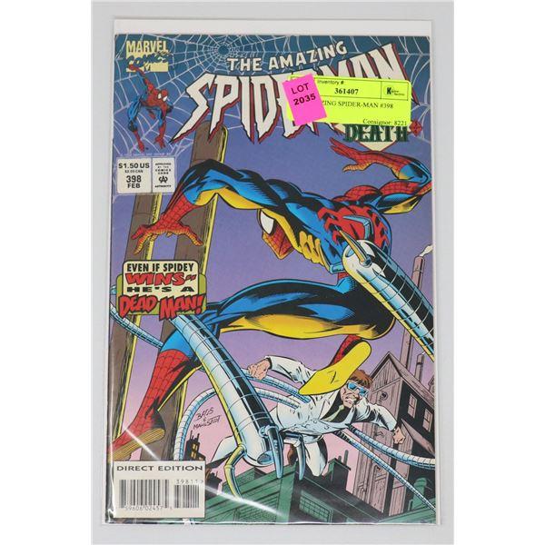THE AMAZING SPIDER-MAN #398