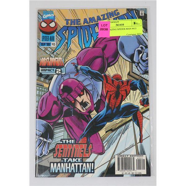 THE AMAZING SPIDER-MAN #415
