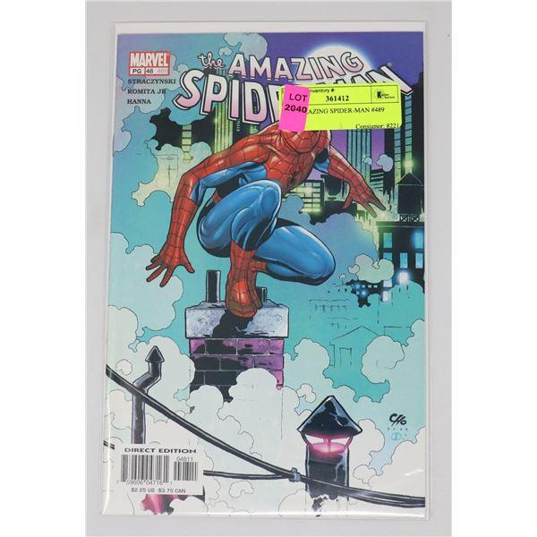 THE AMAZING SPIDER-MAN #489