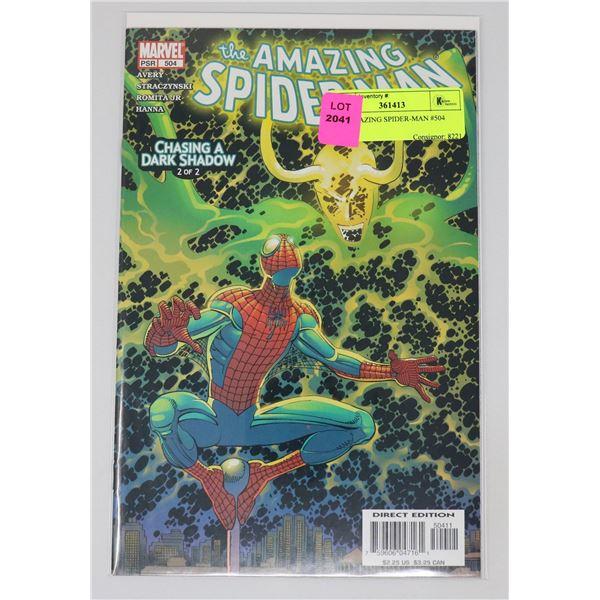 THE AMAZING SPIDER-MAN #504