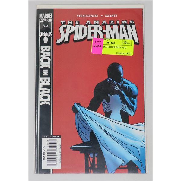 THE AMAZING SPIDER-MAN #543