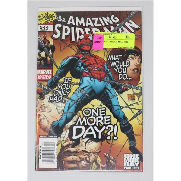 THE AMAZING SPIDER-MAN #544