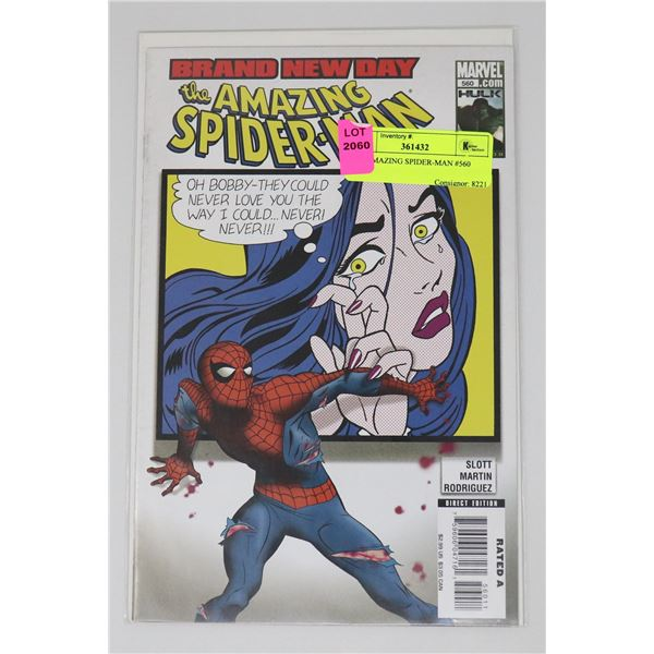 THE AMAZING SPIDER-MAN #560