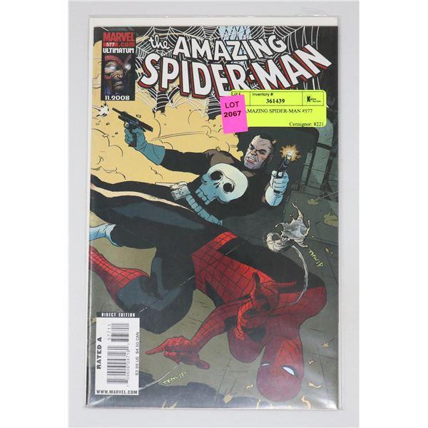 THE AMAZING SPIDER-MAN #577