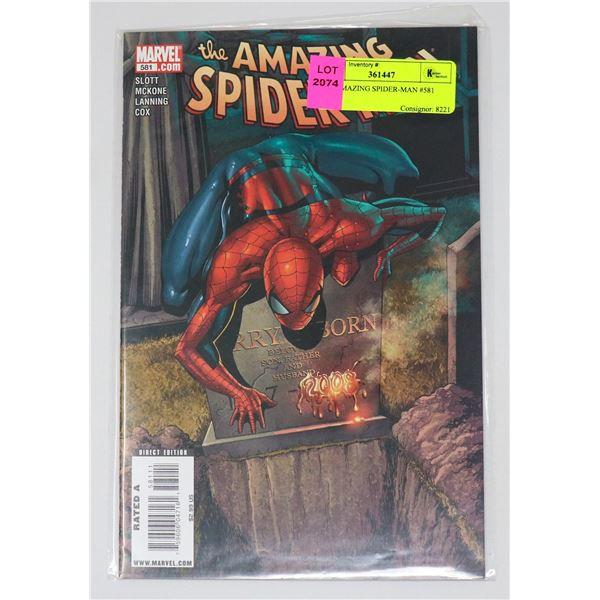THE AMAZING SPIDER-MAN #581