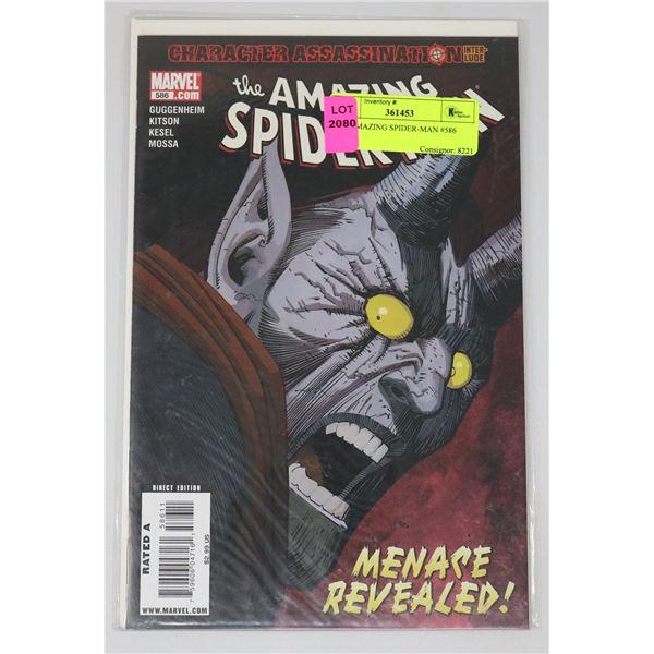 THE AMAZING SPIDER-MAN #586