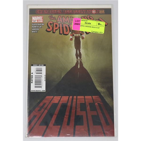 THE AMAZING SPIDER-MAN #587
