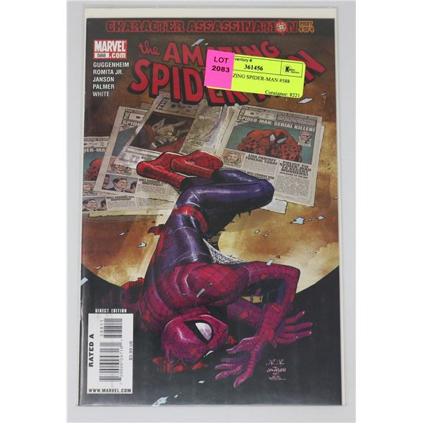 THE AMAZING SPIDER-MAN #588
