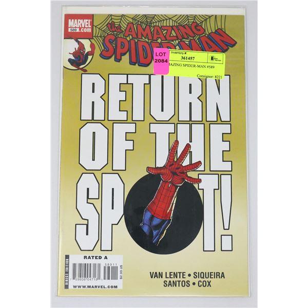 THE AMAZING SPIDER-MAN #589
