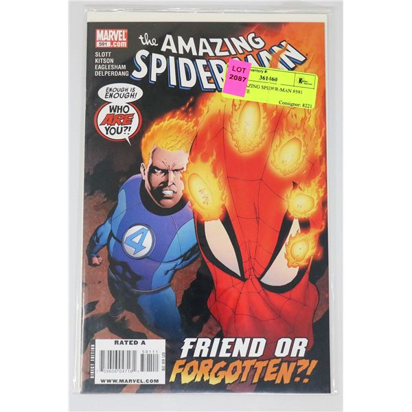 THE AMAZING SPIDER-MAN #591 KEY ISSUE