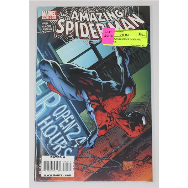 THE AMAZING SPIDER-MAN #592 KEY ISSUE