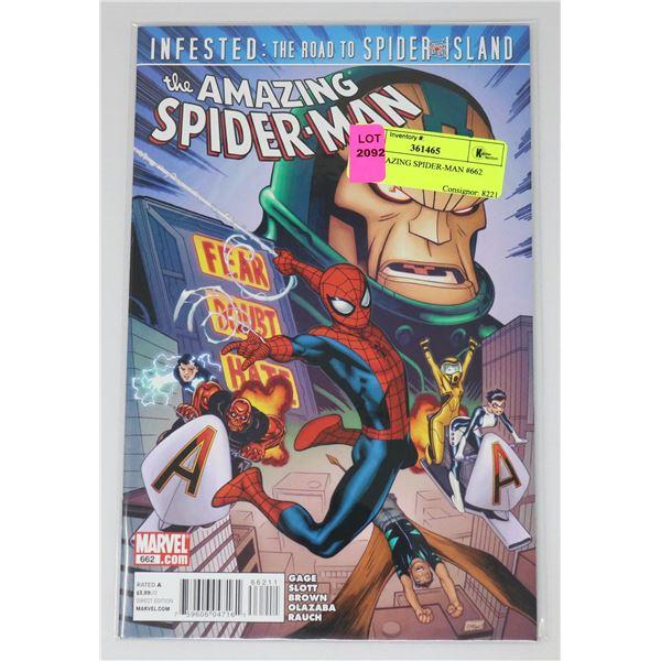THE AMAZING SPIDER-MAN #662