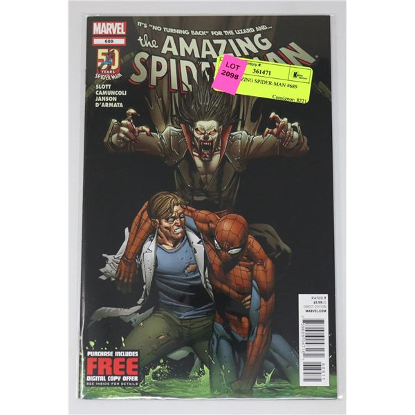 THE AMAZING SPIDER-MAN #689