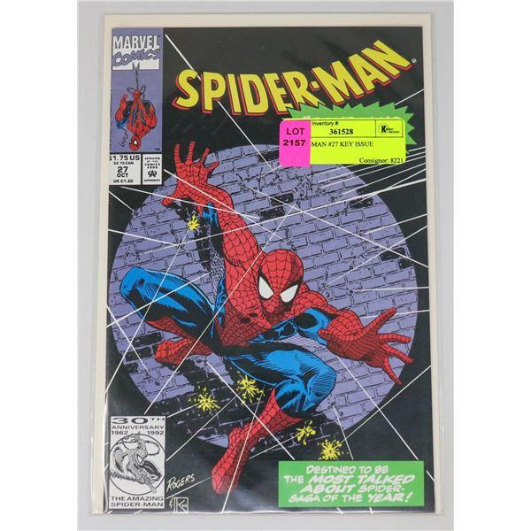 SPIDER-MAN #27 KEY ISSUE